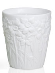 White Narcisse Candle